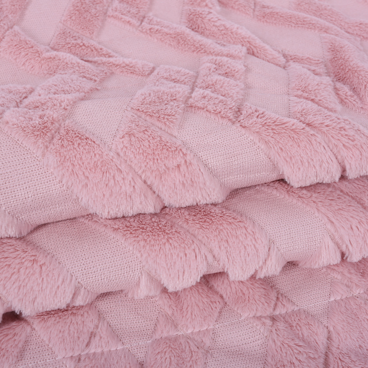 Hot Selling 100% Polyester Fluffy Blanket Fleece Super Soft Shaggy Plush PV Fleece Luxury Sofa Throw Blanket wholesale